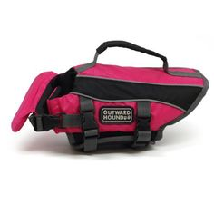 Outward Hound Kyjen 2527 Dog Life Jacket Quick Release Easy-Fit Adjustable Dog Life Preserver, Extra Small, Pink - http://www.thepuppy.org/outward-hound-kyjen-2527-dog-life-jacket-quick-release-easy-fit-adjustable-dog-life-preserver-extra-small-pink/
