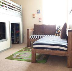 DIY Kids Crib Mattress Sectional Sofa