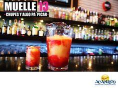 #lasmejoresdiscosdemexico Diviértete en Muelle 13 de Acapulco. LAS MEJORES DISCOS DE MÉXICO. Uno de los mejores lugares para relajarte con un excelente ambiente, un muy buen sonido y la mejor música de actualidad, es sin duda el Muelle 13, donde podrás convivir con tus amigos mientras comes algo ligero y bebes tu trago preferido. Durante tu estancia en Acapulco, te invitamos a visitar el Muelle 13. www.fidetur.guerrero.gob.mx