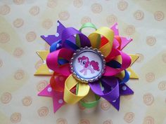 my little pony hair bow also available sofia the by bellecaps, $3.75