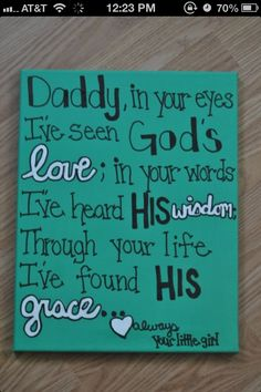 Making this for my dad on Father's Day! <3