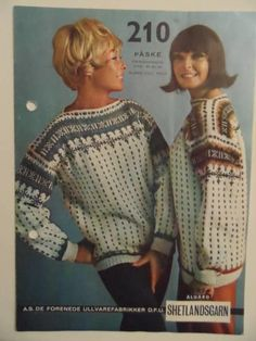 Påske Colour Combinations, Knitting Patterns, Pullover, Sweaters, Color, Fashion, Color Combos, Moda, Knit Patterns