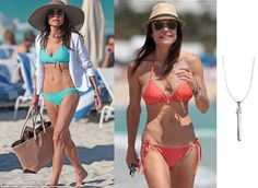 TV personality Bethenny Frankel looks fantastic rocking our Rebel Pendant on the beach! http://www.stelladot.com/shop/en_us/p/jewelry/necklaces/necklaces-all/rebel-pendant?s=chantallemillman