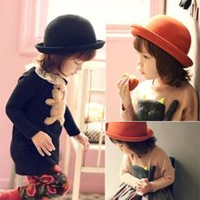New style Korean version kids hats fashion candy color baby hat small dome  baby girl hat 0f3c291d5126