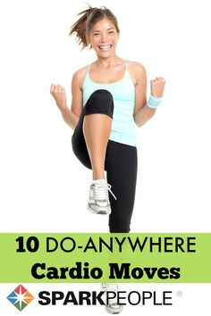 60-Second Cardio Moves via @SparkPeople