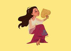 by James Claridades Aka squeegool Philippine Mythology, Philippine Art, Filipino Art, Filipino Culture, Character Illustration, Illustration Art, Art Illustrations, Character Art, Character Design