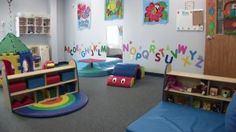 Toddlers Active Play- love this idea for our church's nursery!!