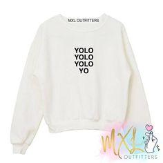 BTS Yolo Yolo Yolo Yo crewneck sweatshirt