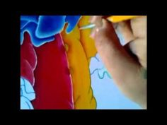 Pintura en tela ropa del payaso con cony # 3 - YouTube
