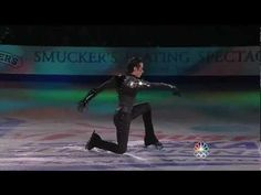 """Johnny Weir skating to """"Poker Face"""" by Lady Gaga"""