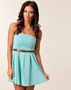 PARTY DRESSES - CLUB L / LIZA BANDEAU DRESS - NELLY.COM