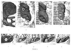 Journal of the Polynesian Society: Evolution Of Certain Maori Carving Patterns, By Gilbert Archey, P Polynesian Art, Maori Designs, Maori Art, Easter Island, Fashion Books, British Museum, Ancient History, Woody, Evolution
