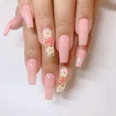 In seek out some nail styles and ideas for your nails? Listed here is our listing of must-try coffin acrylic nails for cool women. Mauve Nails, Aycrlic Nails, Summer Acrylic Nails, Cute Acrylic Nails, Coffin Nails, Spring Nails, Stiletto Nails, Summer Nails, Stylish Nails
