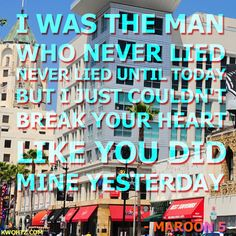 Album: Overexposed  Song: The Man Who Never Lied