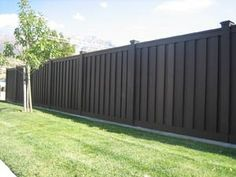 Fence Backyard Ideas privacy fence designs good neighbor privacy fence with scalloped top rail by Fence A Last Resort If We Have To Go Vinyl I Want It Dark