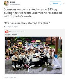That's why BTS cry on their concerts. Because they started like this Kookie Bts, Bts Bangtan Boy, Bts Jungkook, Btob, Vixx, K Pop, Bts Cry, Bts Qoutes, Bts Facts