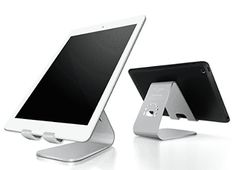 Here are the best prices for iPad Stand, Spinido® TI-APEX Series Magnesium-aluminium Alloy Tablet iPad Stand With All iPad and Samsung Galaxy Tab (Silver) Cell Phone Stand, Cell Phone Covers, Iphone 7 Cases, Iphone 6, Ipad Air, Notebooks, E Reader, All Iphones, Magnesium