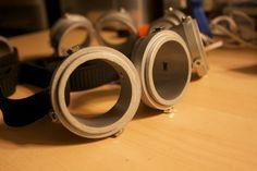 minion goggles.
