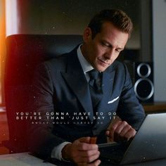Wishing or talking about it doesnt get you anything. You gotta do it. Harvey Specter Suits, Suits Harvey, Boss Quotes, Strong Quotes, Life Quotes, Serie Suits, Suits Quotes, Suits Usa, Gabriel Macht