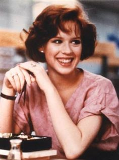 Redhead of the 80s, Molly Ringwald.  Love The Breakfast Club, Sixteen Candles, and Pretty in Pink!