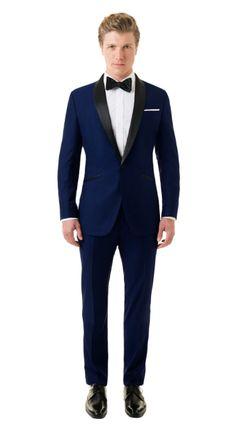 BlackLapel | Solid Royal Blue Tuxedo