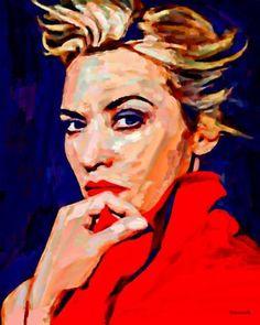 "Saatchi Art Artist ACQUA LUNA; Painting, ""12- Primer Plano."" #art"