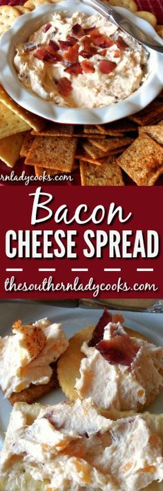 Bacon cheese spread is a delicious, quick and easy cheese spread made in the microwave your family and friends will love. Wonderful for entertaining.