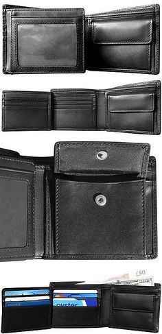 Wallets 2996: Mt. Everest Rfid Blocking Trifold Bifold With Coin Pocket Mens Leather Wallet -> BUY IT NOW ONLY: $30.99 on eBay!