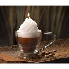 Cup Of Cafe Mocha Candle
