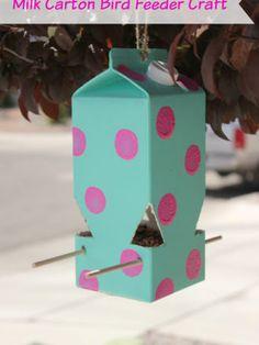 How to Make a Milk Carton Bird Feeder: A Perfect Kids' Craft!