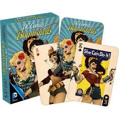 Homewares - DC Comics Bombshells Playing Cards