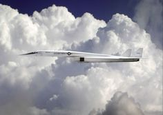 The XB-70 Valkyrie, one of the most beautiful planes ever produced. Only one remains in existence today.