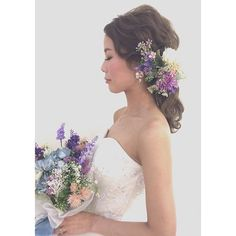 *・*・**・*・*・**・* ・*お外はさっむーい中、☃️美しすぎるドレス姿で頑張ってくれたマイさん☺️ ありがとうございました 担当できて嬉しかったです。 お幸せに☺️ #お打合せの時からファンでした笑 #ヘアメイク #ヘアメイクアップアーティスト #ブライダルヘアメイク#hairmakekandaayano #ウエディング #wedding #福岡ヘアメイク#プレ花嫁