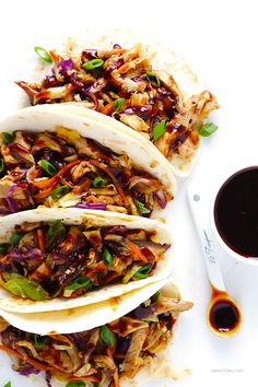 This 20-Minute Moo Shu Pork (or Moo Shu Chicken!) recipe is quick and easy to make, totally delicious, and it tastes just as good as the restaurant version!