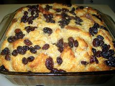 Easy Bread Pudding Recipe with Jimmy John's Day Old Bread