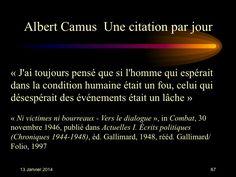 Albert Camus (1913-1960) n° 67