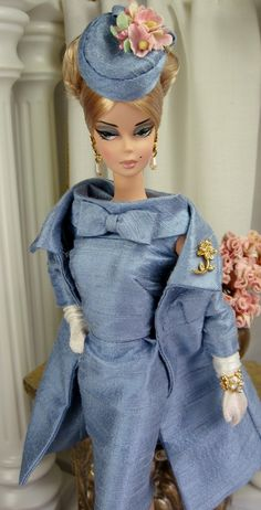 Vintage Blue for Silkstone Barbie and similar size dolls on Etsy now