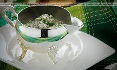 Kremowe risotto z serem roquefort, szpinakiem i tymiankiem