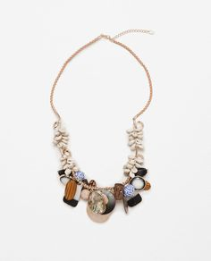 ZARA - WOMAN - LONG SHELL NECKLACE