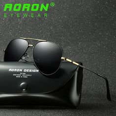 69788eddb7 Men Pilot Sunglasses Hd Driving Polarized Sun Glass Alloy Frame Uv400  Eyewear Vintage Sunglasses