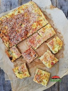 Yummy Appetizers, Healthy Recipes, Healthy Food, Quiche, Zucchini, Food And Drink, Bread, Breakfast, Pie