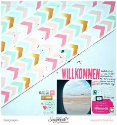 Webster's Pages -  eine Überlegung - Designteam Scrapbook Werkstatt - designed by Alexandra Boehnke (Tandi-Works)