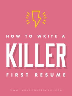 how to write a killer first resume feminine professional microsoft word resume templates