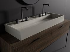 #iBASINS is a new series of #MDi products, aimed at offering architects and interior designers another tool in the creation of projects with high added value. #Inalco #Inalcoworld #washbasin
