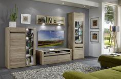 Obývačka MODESTO (Dub San remo sand) / Living room MODESTO (Oak San remo sand) San, Furniture, Living Room, Home Decor, Decoration Home, Room Decor, Home Furnishings, Home Living Room, Drawing Room