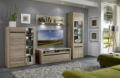 Obývačka MODESTO (Dub San remo sand) / Living room MODESTO (Oak San remo sand)