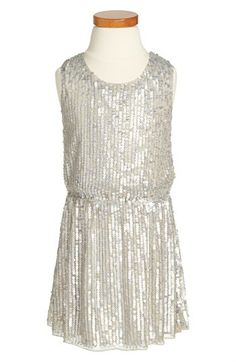Peek 'Zoe' Sleeveless Sequin Dress (Toddler Girls, Little Girls & Big Girls) available at #Nordstrom