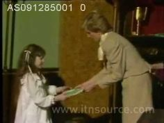 December 9, 1985: Princess Diana attends a Prizegiving Ceremony in aid of the Family Welfare Association at Fishmonger's Hall. She hands out prizes to children who have contributed to a poetry book published to raise funds for youngsters in need.