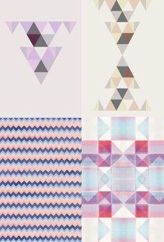 * Nancy Straughan - textile design - via wit & delight
