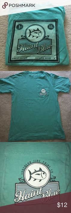 Southern Tide Shirt Teal Southern Tide short sleeved shirt in great condition! Size: XS Southern Tide Tops Tees - Short Sleeve